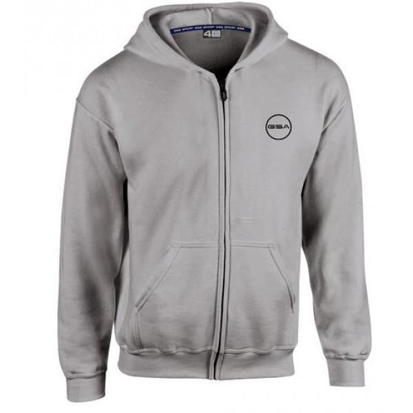 GSA SUPERCOTTON HOODIE - CHARCOAL