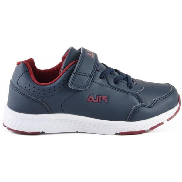 Fila MEMORY SANTIS V. LEATHER - DARK BLUE RED