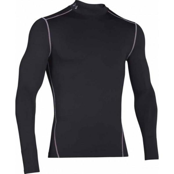 Under Armour COLDGEAR COMPRESSION MOCK - BLACK