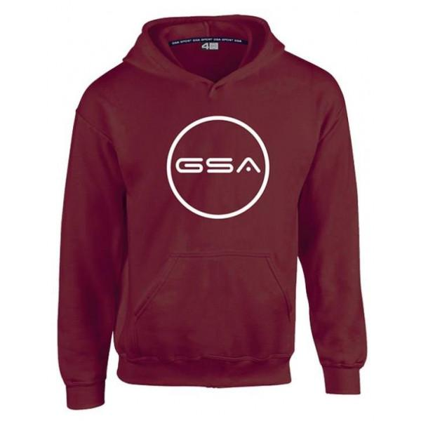 GSA SUPERCOTTON HOODIE - RED