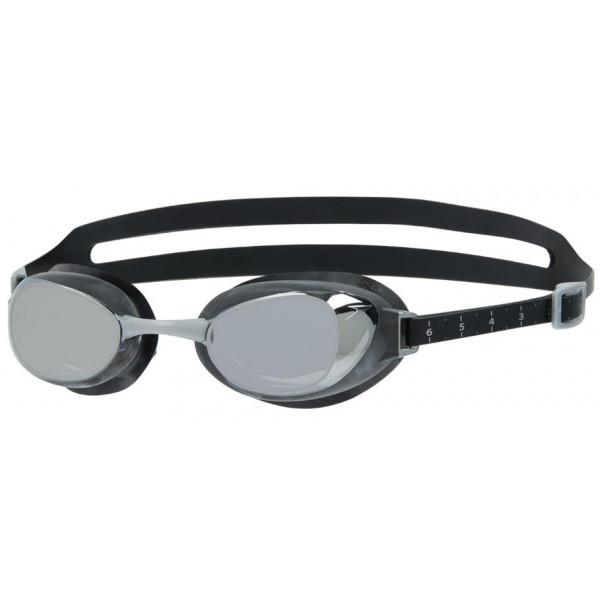 Speedo AQUAPURE MIRROR AU - BLACK/SILVER