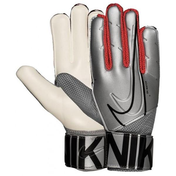 Nike GOALKEEPER MATCH GLOVES - GREY/WHITE