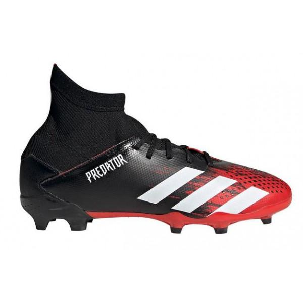 Adidas PREDATOR 20.3 FG J - RED/BLACK