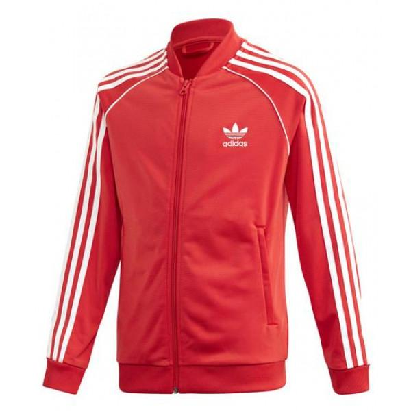Adidas Originals SUPERSTAR TRACK JACKET - RED