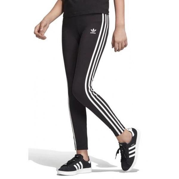 Adidas Originals 3-STRIPES KIDS LEGGINGS - BLACK