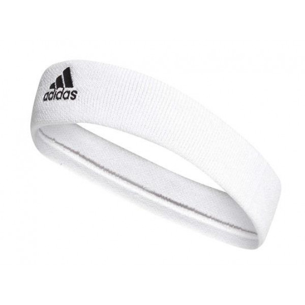 Adidas Performance TENNIS HEADBAND - WHITE