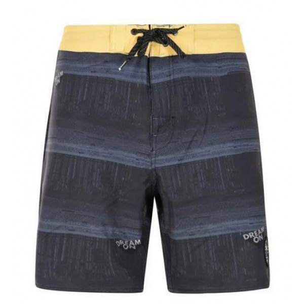 Basehit Mens Packable Board Shorts - PR 185 OFF BL...
