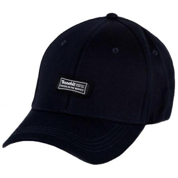 Basehit Unisex Six Panel Caps - BLUE