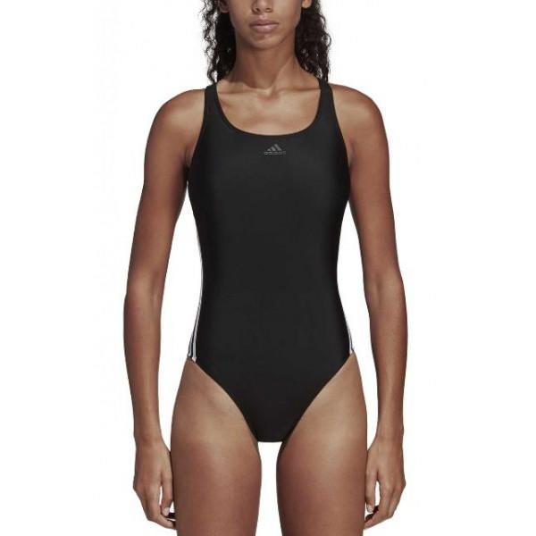 Adidas Performance ATHLY V 3-STRIPES SWIMSUIT - BL...