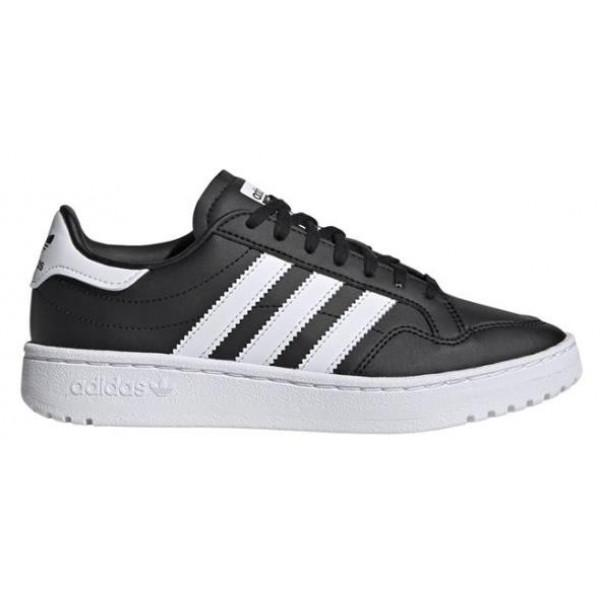Adidas Originals TEAM COURT J - BLACK/WHITE