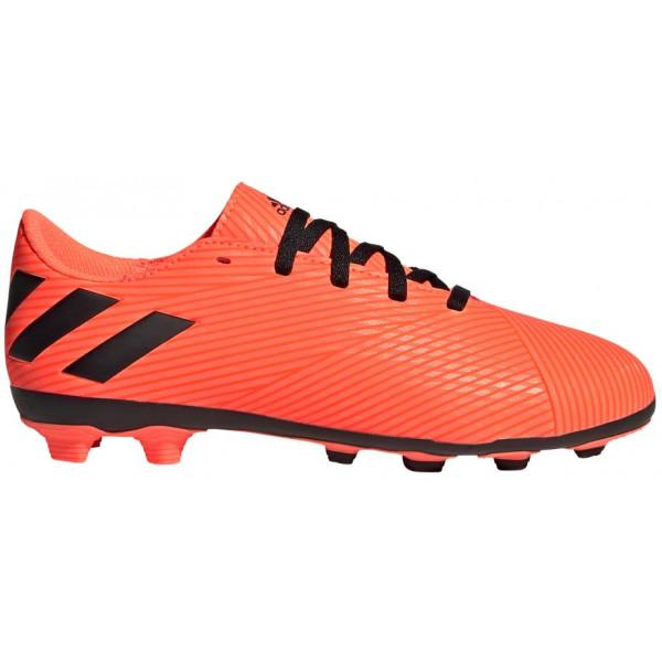 Adidas Performance NEMEZIZ 19.4 FxG J - ORANGE/BLA...