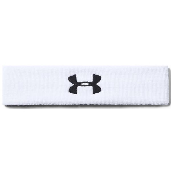 Under Armour PERFORMANCE HEADBAND - WHITE