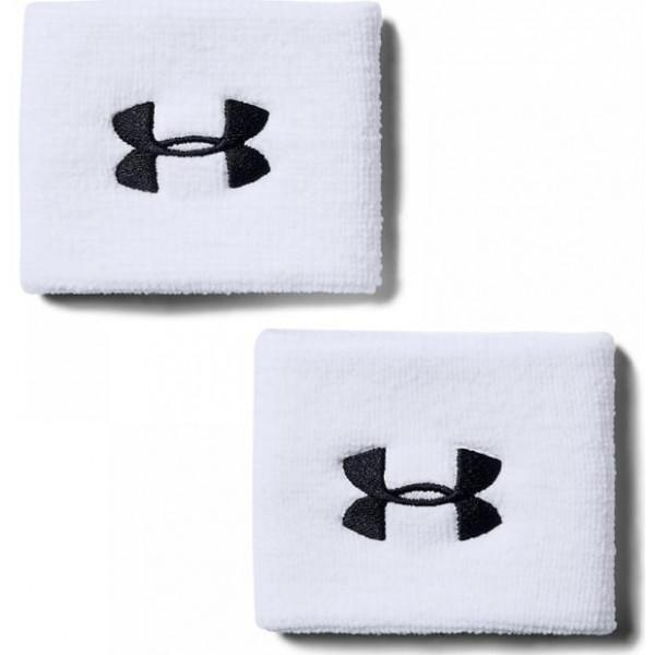 Under Armour PERFORMANCE WRISTBANDS - WHITE