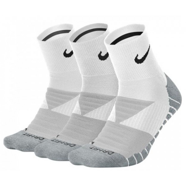 Nike EVERYDAY MAX CUSHIONED ANKLE (3-PAIRS) - WHIT...