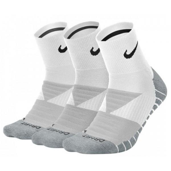 Nike EVERYDAY MAX CUSHIONED ANKLE (3-PAIRS) - WHITE