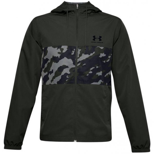 Under Armour SPORTSTYLE WIND CAMO JACKET - GREEN