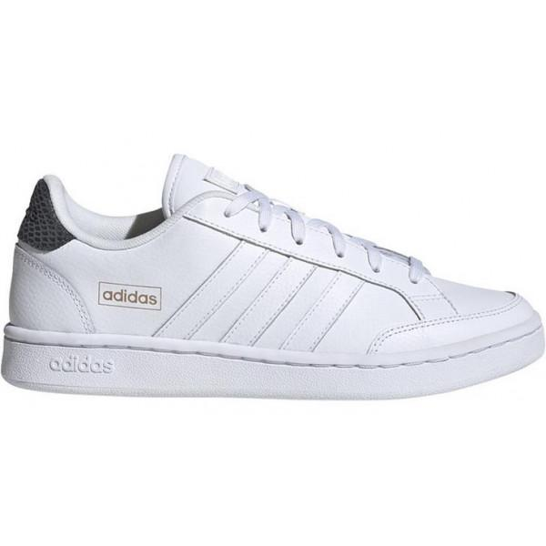 Adidas GRANT COURT SE SHOES - WHITE/GREY