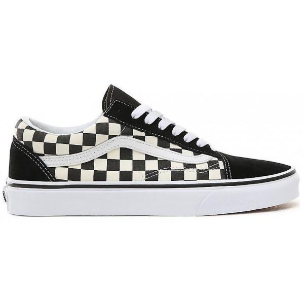 Vans UA Old Skool (Primary Check) - BLACK/WHITE